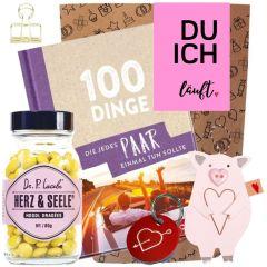 Geschenkset DU ICH LÄUFT - rosa # 2