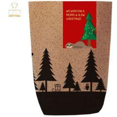 Geschenktüte X-MAS WALD - SLOW CHRISTMAS - zum Befüllen