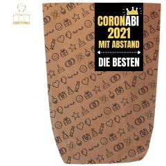 Geschenktüte CORONABI 2021 - zum Befüllen