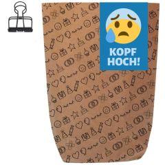 Geschenktüte KOPF HOCH! - zum Befüllen