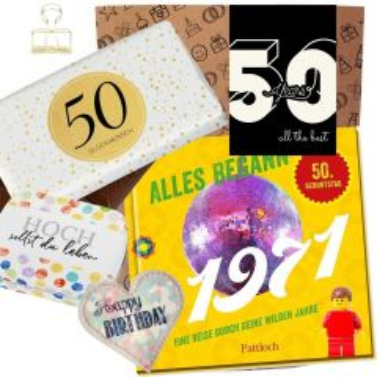 Geschenkset 50 YEARS # 1