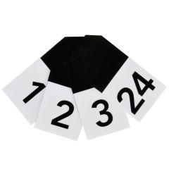 Adventskalender Zahlen BLACK NUMBERS