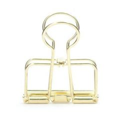 Klammer WIRE CLIP - gold