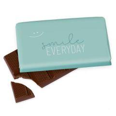 Kleine Schokolade 40g SMILE EVERYDAY