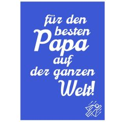 Minicard BESTER PAPA
