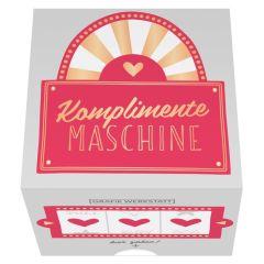 Message in a Box KOMPLIMENTE MASCHINE