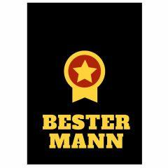 Minicard BESTER MANN - Motiv Orden
