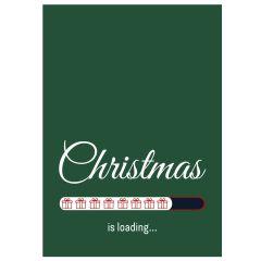 Minicard CHRISTMAS IS LOADING...