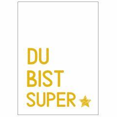 Minicard DU BIST SUPER