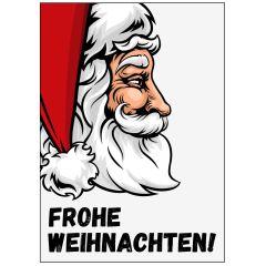 Minicard FROHE WEIHNACHTEN! - WEIHNACHTSMANN