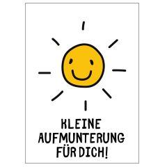 Minicard KLEINE AUFMUNTERUNG FÜR DICH