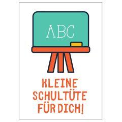 Minicard KLEINE SCHULTÜTE FÜR DICH!