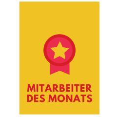 Minicard MITARBEITER DES MONATS