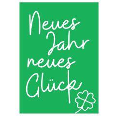 Minicard NEUES JAHR NEUES GLÜCK!