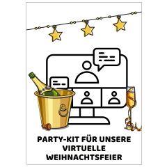 Minicard PARTY-KIT FÜR UNSERE VIRTUELLE WEIHNACHTSFEIER