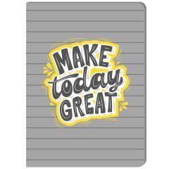 Notizheft MAKE TODAY GREAT