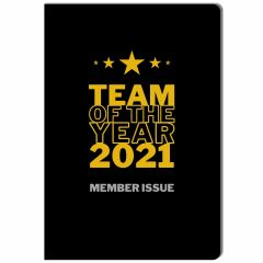 Notizheft TEAM OF THE YEAR 2021 - MEMBER ISSUE