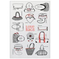Postkarte LOVE BAGS