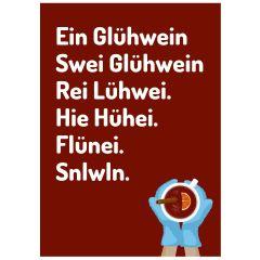 Postkarte GLÜHWEIN - NEW GFF-Edition