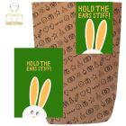 Geschenktüte + Grußkarte HOLD THE EARS STIFF!