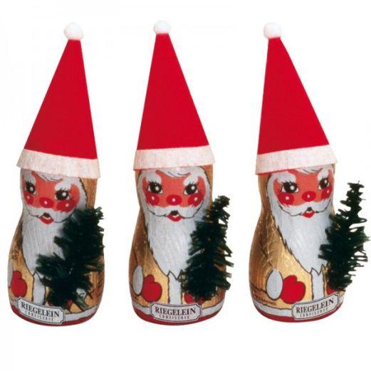 Schokoladen Weihnachtsmann MÜTZE von Riegelein
