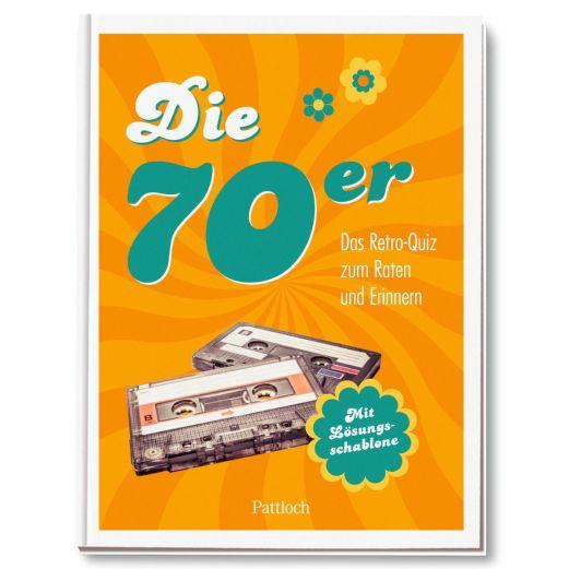Geschenkbuch DIE 70er DAS RETRO QUIZ