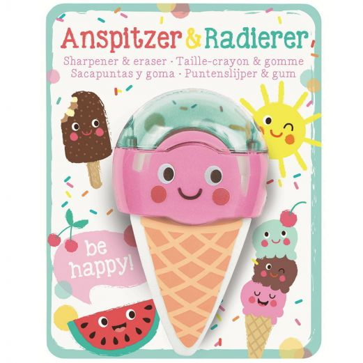 Anspitzer & Radierer ICE CREAM