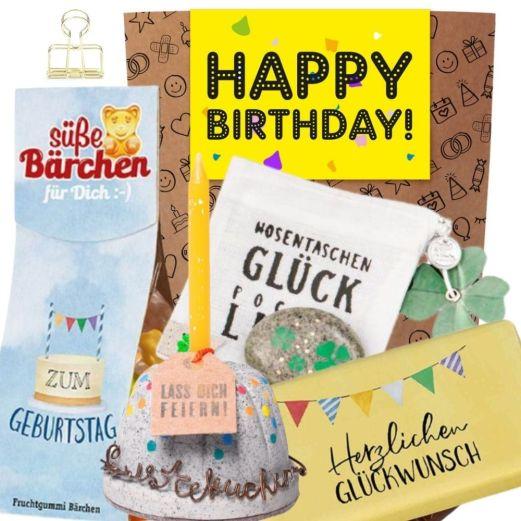 Geschenkset HAPPY BIRTHDAY! # 4