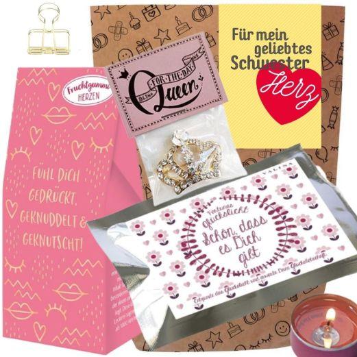 Geschenkset FÜR MEIN GELIEBTES SCHWESTERHERZ # 4