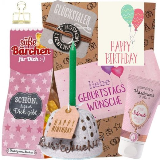 Geschenkset HAPPY BIRTHDAY BALLONS # 5