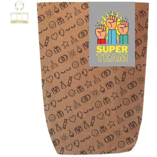 Geschenktüte SUPER TEAM! - zum Befüllen