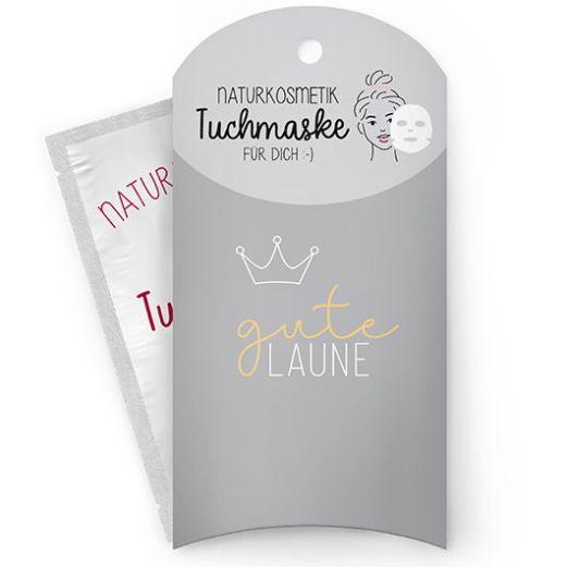 Tuchmaske GUTE LAUNE