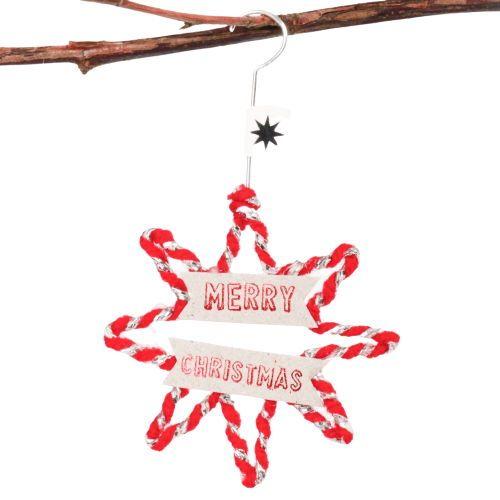 Mini Winter Wollornament STERN MERRY CHRISTMAS