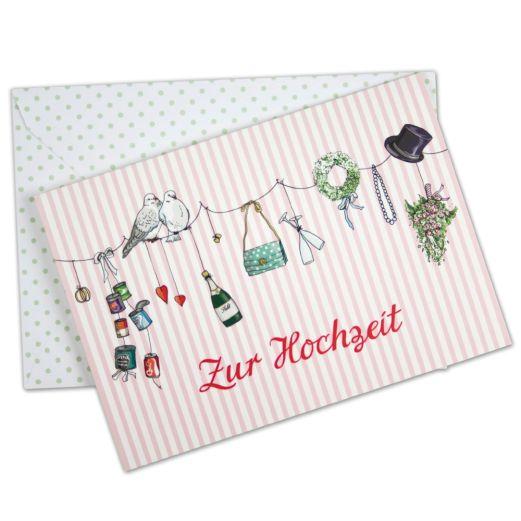 Hochzeitskarte ZUR HOCHZEIT