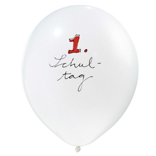 Luftballon 1. SCHULTAG