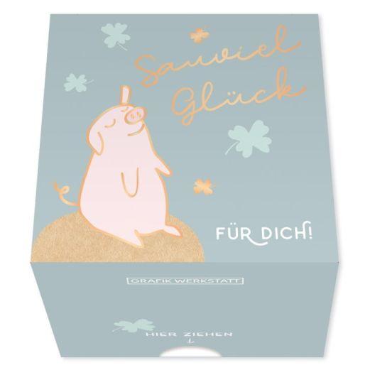 Message in a Box SAUVIEL GLÜCK FÜR DICH!