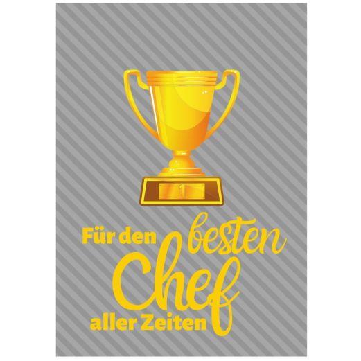 Minicard FÜR DEN BESTEN CHEF
