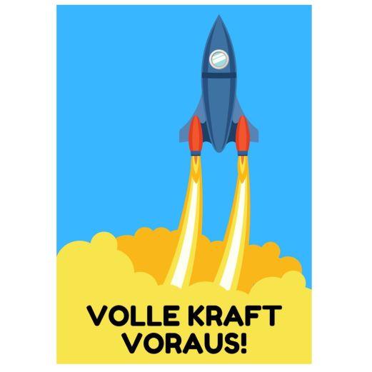 Minicard VOLLE KRAFT VORAUS!