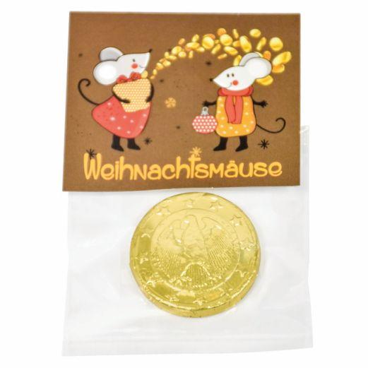 Schokoladentaler WEIHNACHTSMÄUSE