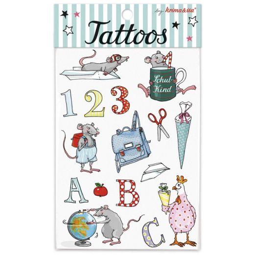 Tattoos SCHULANFANG