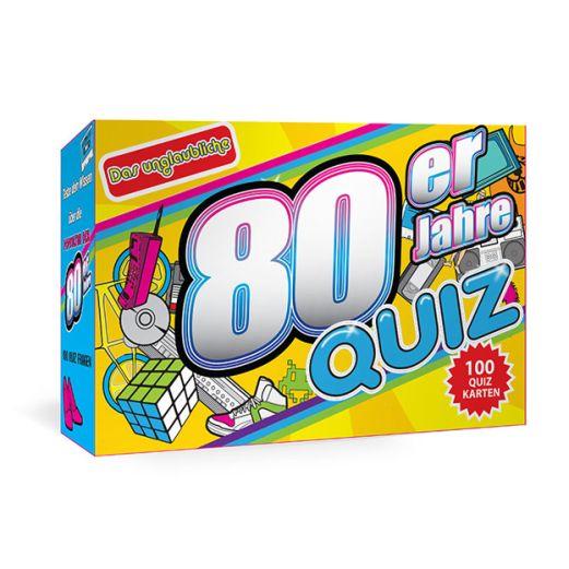 80er Jahre QUIZ TRIVIA CARDS