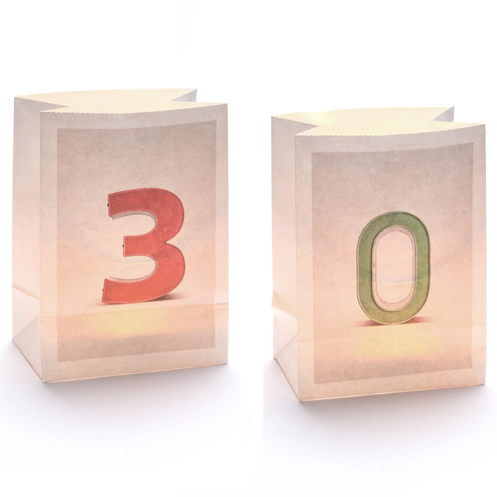 Lichttüten-Sets Zahlen